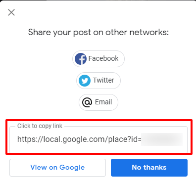 Saving your URL from post