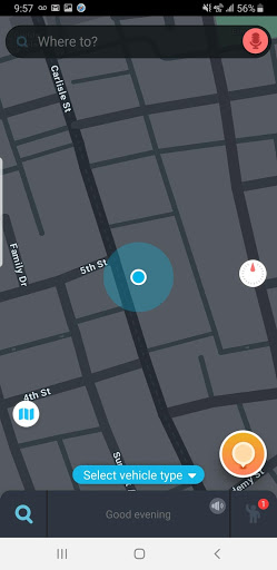 Selecting your GMB for place in Waze